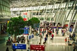 全球领先机场的机场安检等待时间